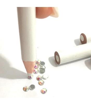 lápiz aplicador piedras